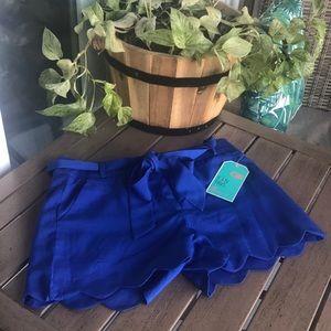 Royal Blue Shorts